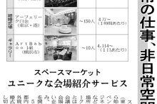 「日経産業新聞」にて、スペースマーケットが取り上げられました