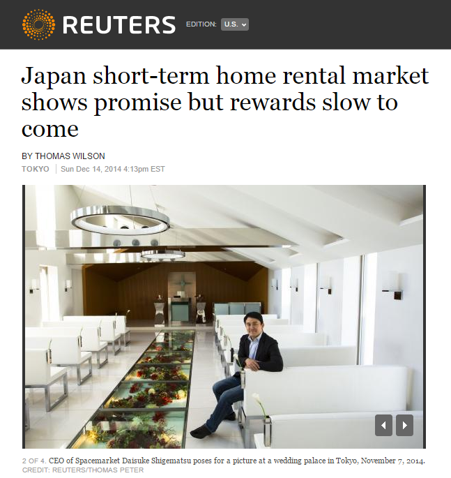 20141214_01【REUTERS】Japan-short-term-home-rental-market-shows-promise-but-rewards-slow-to-come