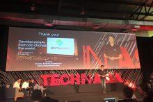 Tech in Asia Jakartaで日本のスタートアップ代表としてマネジャーの斉藤が登壇しました